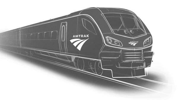 Siemens покоряет железные дороги США. Amtrak показал первый тепловоз Siemens Charger ALC-42 и заказал у немцев пассажирские вагоны