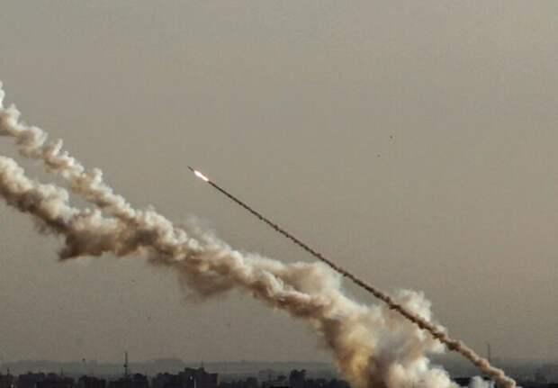 Количество выпущенных по Израилю ракет исчисляется сотнями