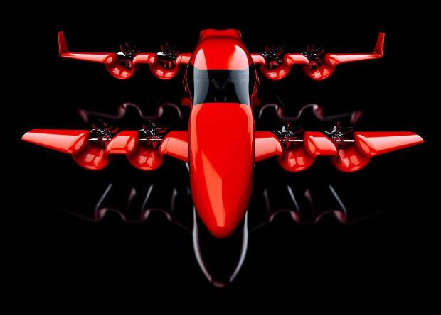 Американцы создадут аэротакси-биплан с арочными крыльями