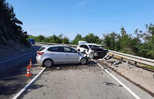 Шесть человек пострадали в двух авариях на Кубани