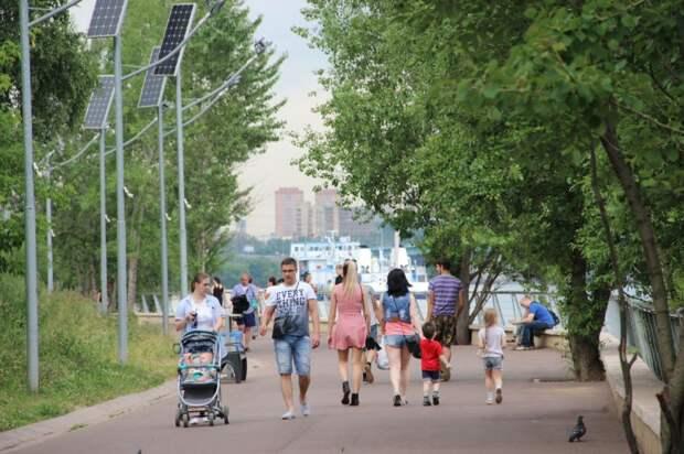 Парк «Северное Тушино» вошёл в пятёрку самых популярных туристических маршрутов