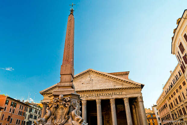Прогулка по Пантеону в Риме
