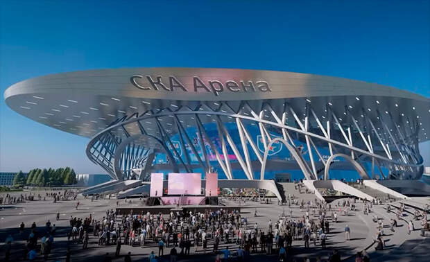 «Это бомба, чистый восторг! Настоящий храм хоккея» - Геркус о новой арене СКА от австрийского архитектурного бюро