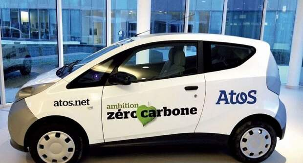 Atos создаст парк служебных электромобилей к 2024 году