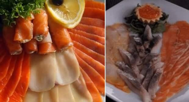 рыба на праздничном столе
