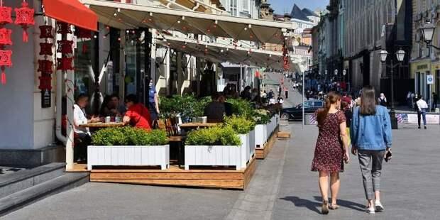Майские праздники не повлияли на режим работы магазинов и кафе Москвы