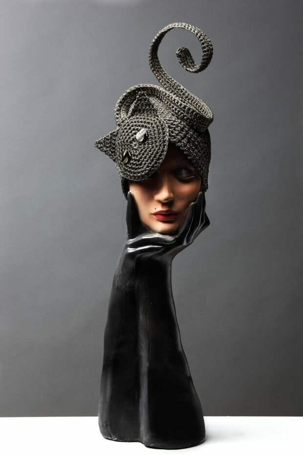10 фантастических вязаных шляп и шапок