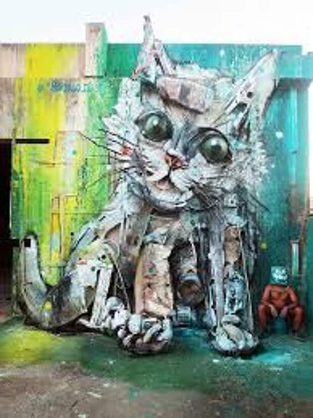 Street Art Bordalo II