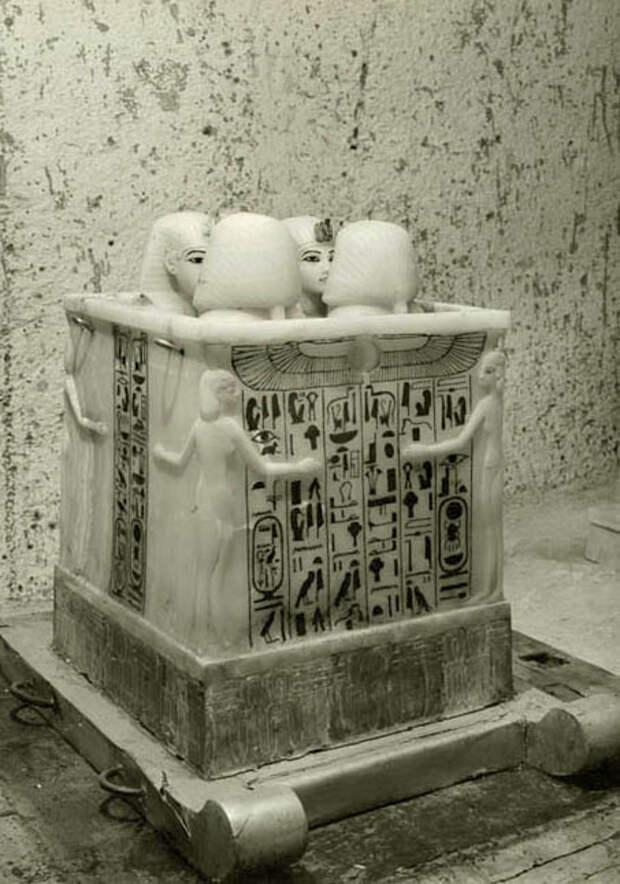 Сокровища Тутанхамона глазами первооткрывателей