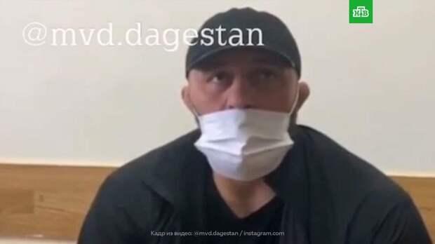 Бывшего бойца UFC задержали в Махачкале