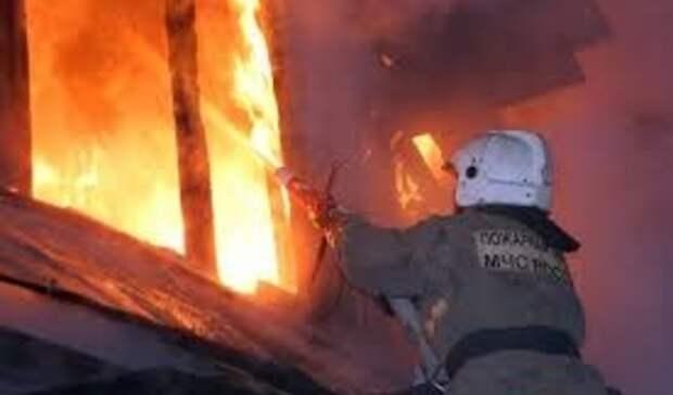 72-летний мужчина погиб при пожаре в Неклиновском районе