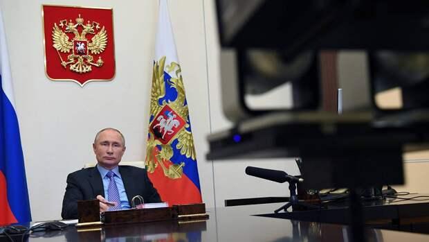 Путин оценил работу «Единой России» в условиях пандемии