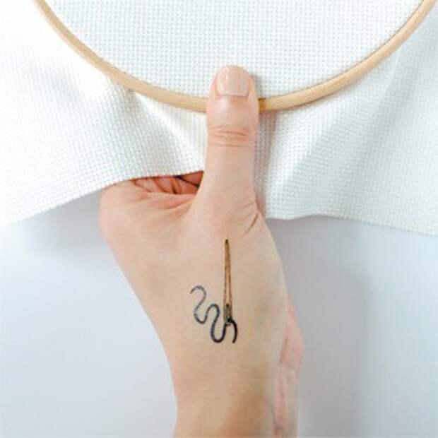 Татуировки для рукодельниц