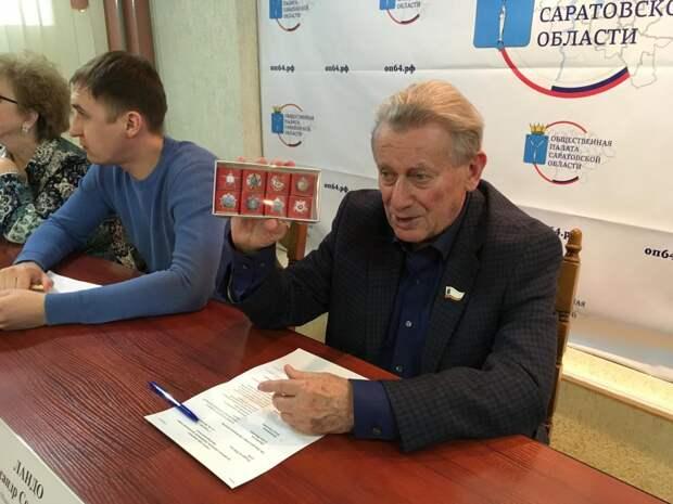 Раздавать шоколадные ордена намерены в Саратове организаторы «Бессмертного полка» в ходе акции