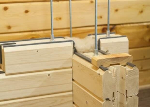 Современный материал – профилированный брус