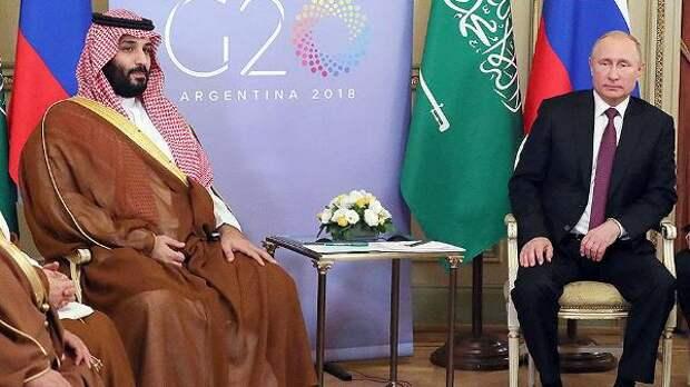 Путин икронпринц Саудовской Аравии подчеркнули важность формата ОПЕК+