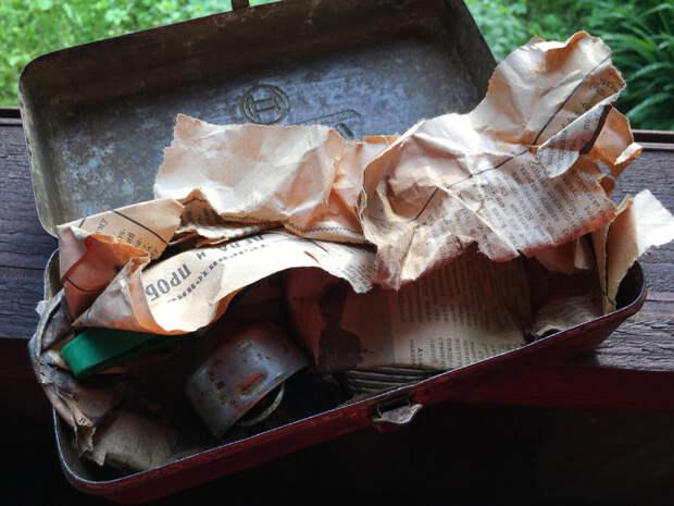 Нашли в старом гараже ящичек, принесли мне на оценку, в нем вещь как у л. . Берия и другие интересные предметы