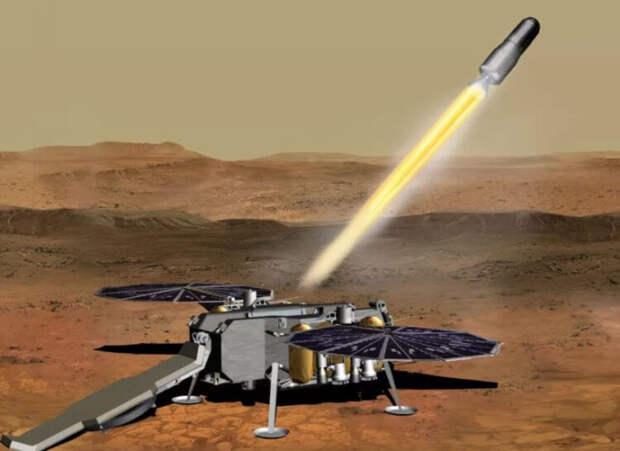 Как NASA отправит образцы Марса на Землю в 2031 году?