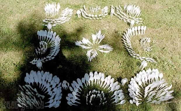 Пластиковые цветы Леа Турто