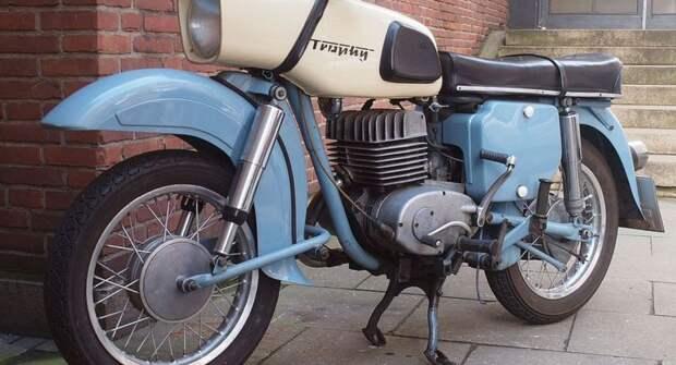 Редкий мотоцикл из ГДР — MZ ES 250