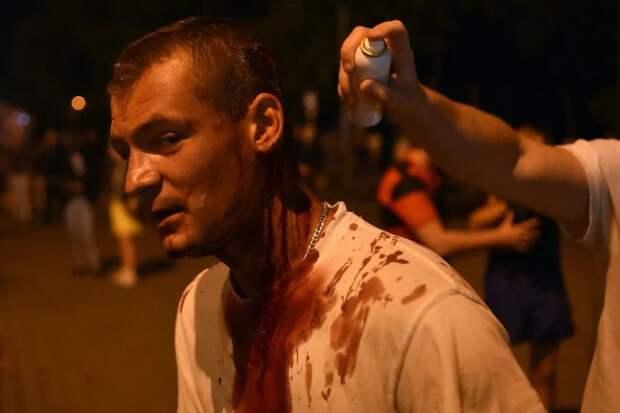 19 сильных фото и видео второй ночи протестов в Беларуси