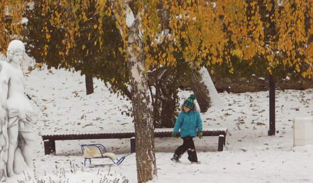 Синоптики сообщили о том, что первый снег в Башкирии может выпасть уже завтра