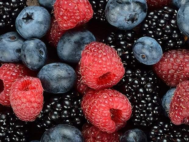 7 ягод для повышения энергетики
