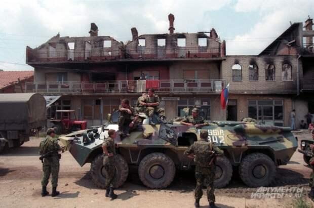 Русский бросок в Косово