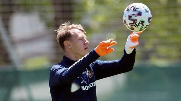 Сафонов дебютировал за сборную России