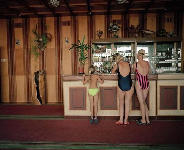 Ялта 90-х года в объективе британского фотографа