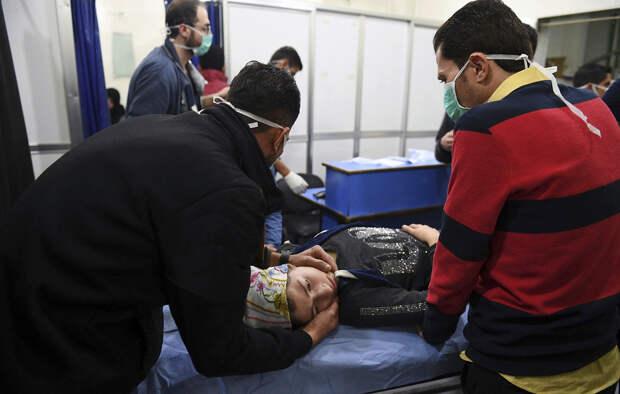 Мгновенная ответка. ВКС России уничтожили боевиков, обстрелявших Алеппо химическими боеприпасами.