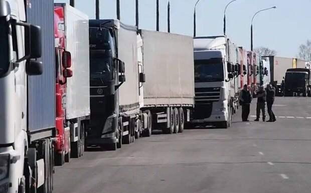 Плата за русофобию: польские дальнобойщики жалуются на предвзятое отношение России