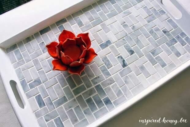 Что можно сделать из остатков керамической плитки и мозаики
