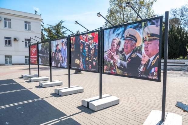 В Севастополе открылась выставка «Победный май»