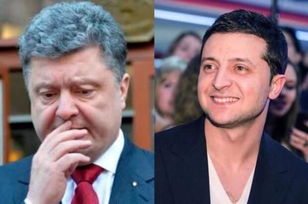 Экзитпол: Зеленский и Порошенко выходят во второй тур