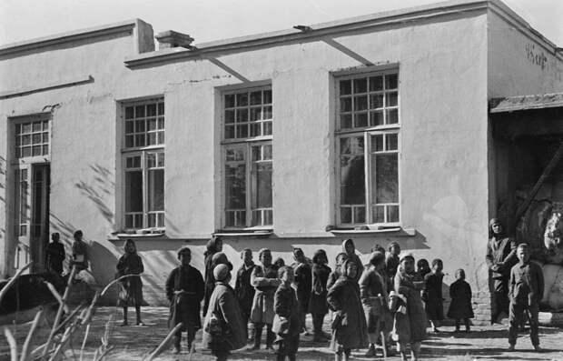 Узбекистан. Школа в совхозе