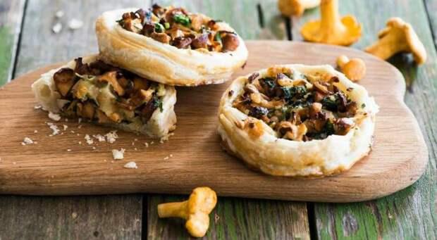 С курицей и грибами. \ Фото: google.com.