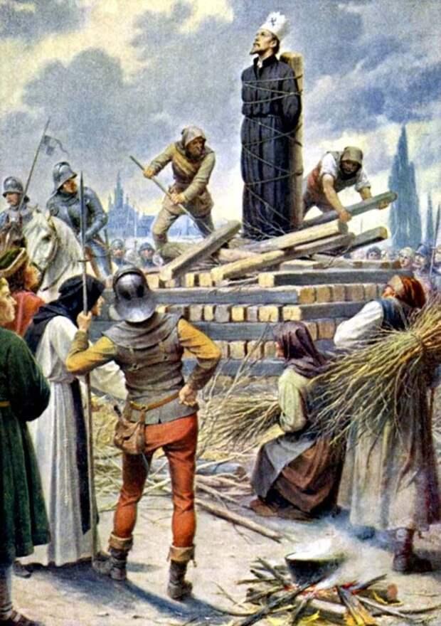 6 июля 1415 года на костре был сожжен Ян Гус - национальный герой чешского народа, проповедник, мыслитель, идеолог чешской Реформации.