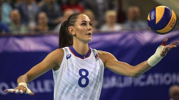 Женская сборная России с победы стартовала в Лиге наций