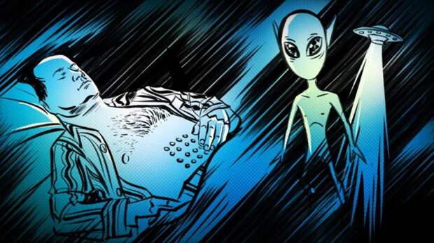 Близкий контакт с НЛО в Канаде