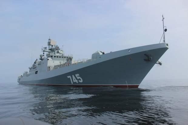 Черноморский флот направил фрегаты с крылатыми ракетами к берегам Сирии
