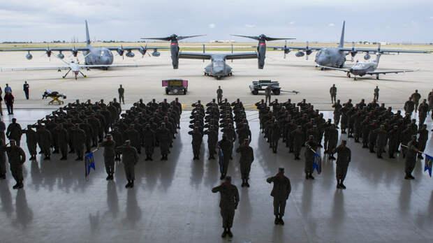 Беспилотник повредил военную базу в Ираке, контролируемую коалицией во главе с США