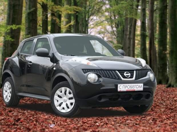 На аукционе Cars&Luck — Nissan Juke!