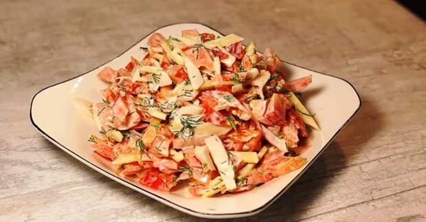 Когда свекровушка готовит этот салат, всегда бегу к ней, как на праздник