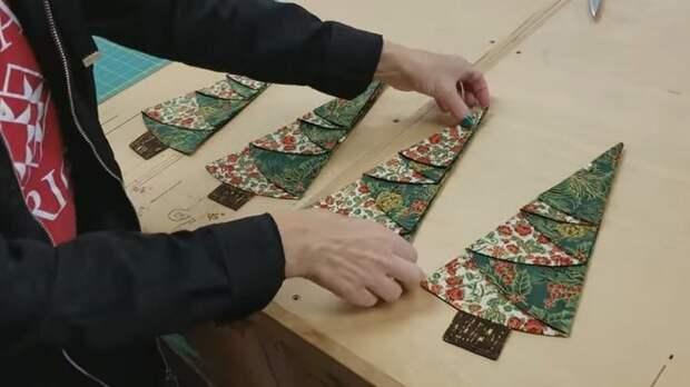 Ёлочки для украшения новогоднего стола