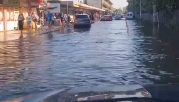 Наводнения в России: ситуация на курортах