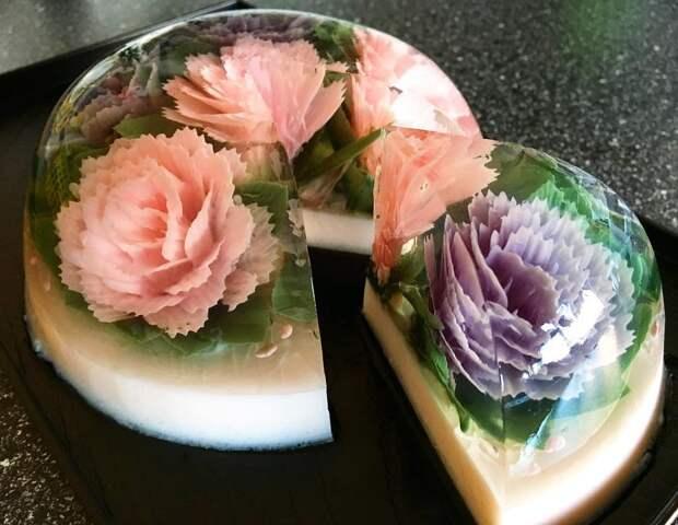 10 фото красивейших тортов из желе, которые жалко есть