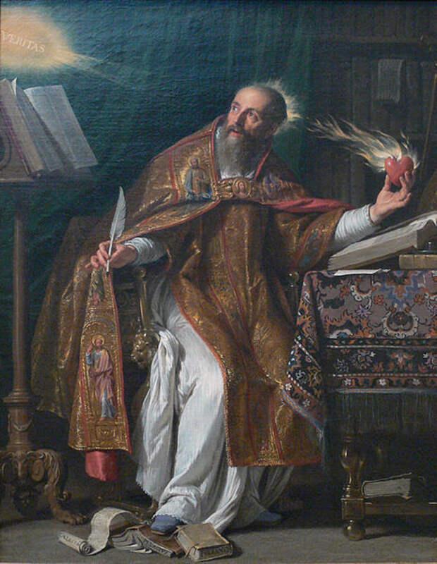 File:Philippe de Champaigne - Saint Augustine - LACMA - without frame.jpg