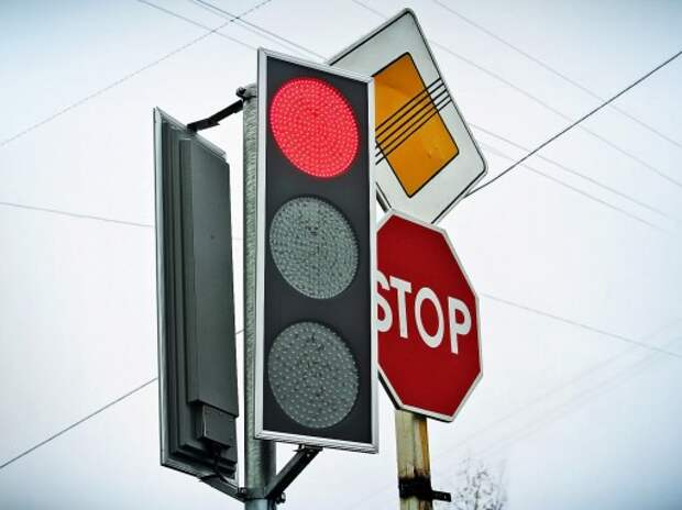 В столице установят плоские, энергосберегающие светофоры