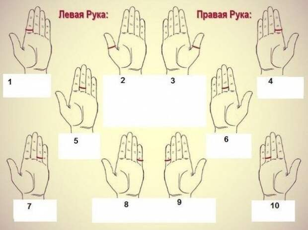 А на каком пальце носите кольцо вы?